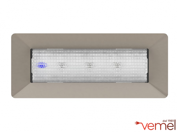 Plafoniera Con Emergenza Incorporata : Led lampada emergenza h p livinglight air u vemelstore